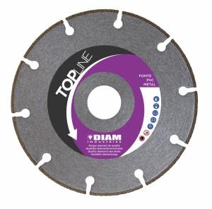 DIAM Trennscheibe TOPLINE SPI-125/22 – speziell für Gusseisen, Schienen und Stahl