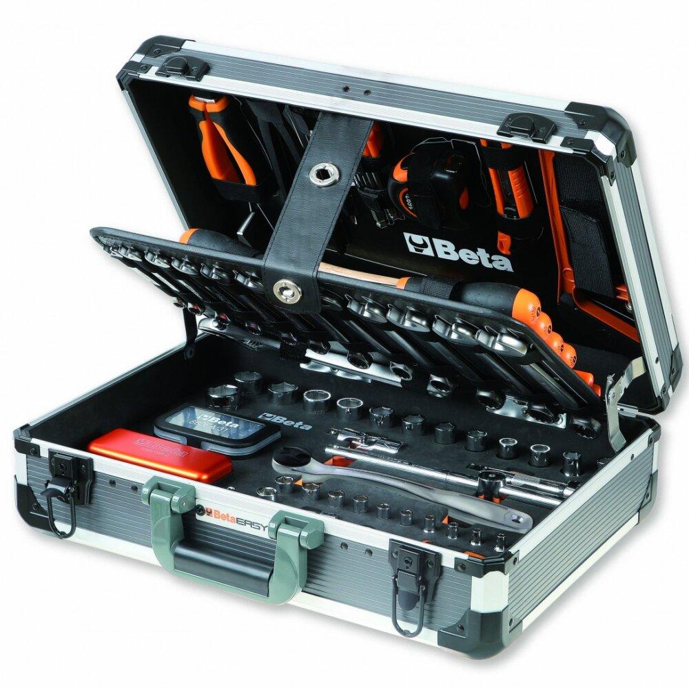 BETA EASY KOFFER mit 128-TLG Werkzeugsortiment
