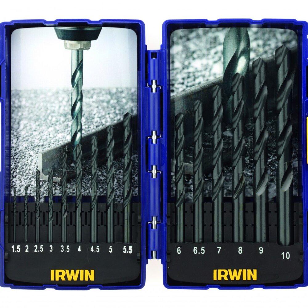 IRWIN HSS Pro Bohrer Sätze HSS Pro, 15pc set: 1,5 to 10,0mm