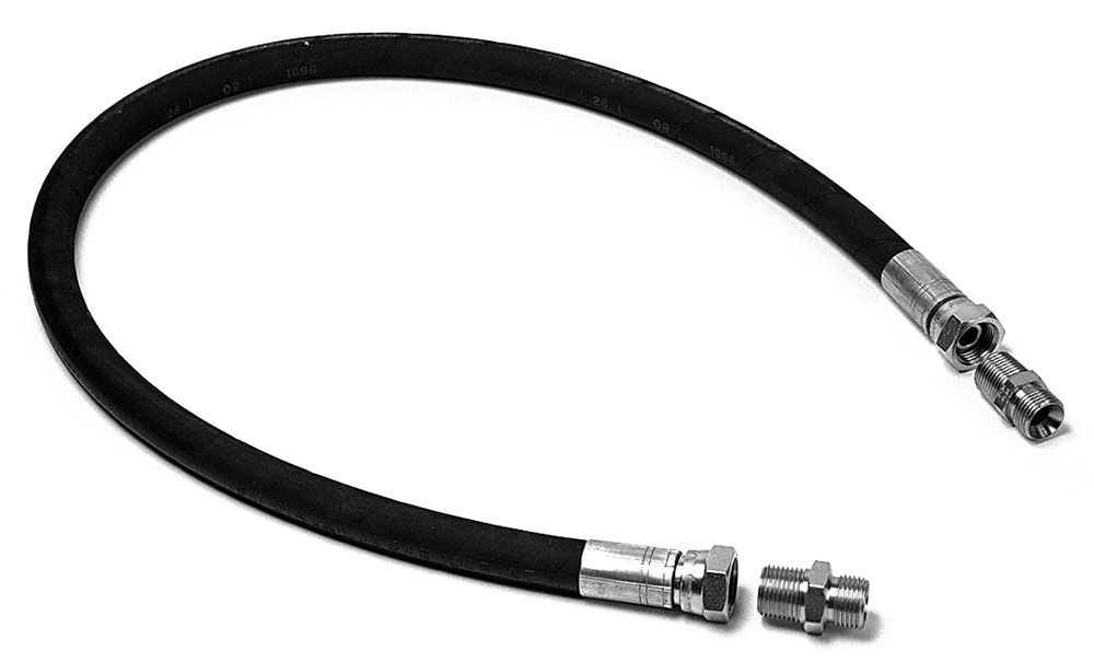 AIRPRESS Hochdruckverbindungsschlauch 1/2″-1 M