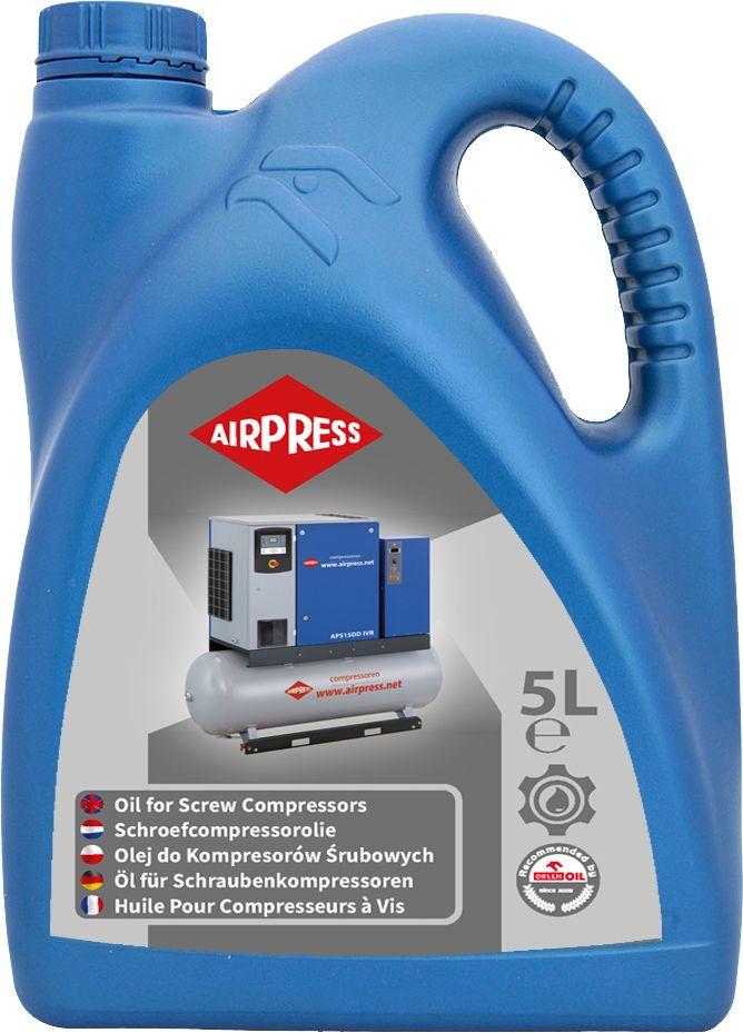 AIRPRESS Öl für Schraubenkompressoren 5L