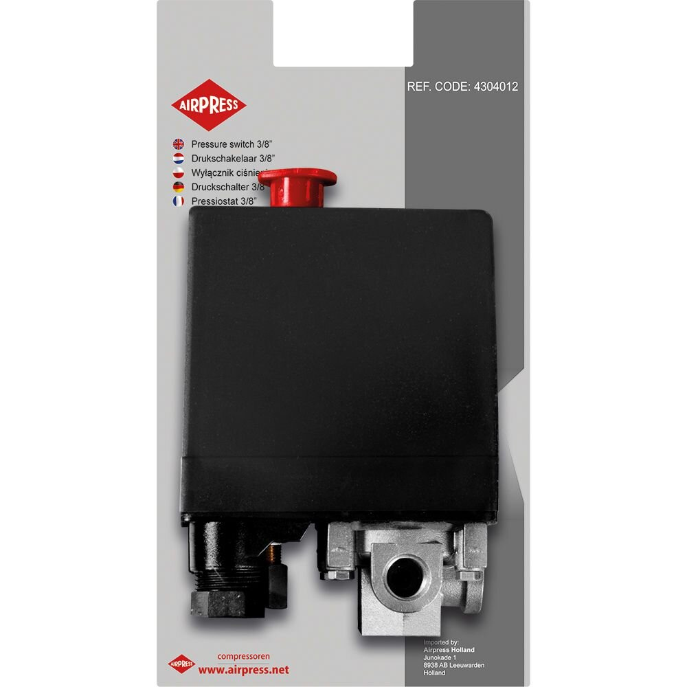 AIRPRESS Druckschalter 3/8″ 400V