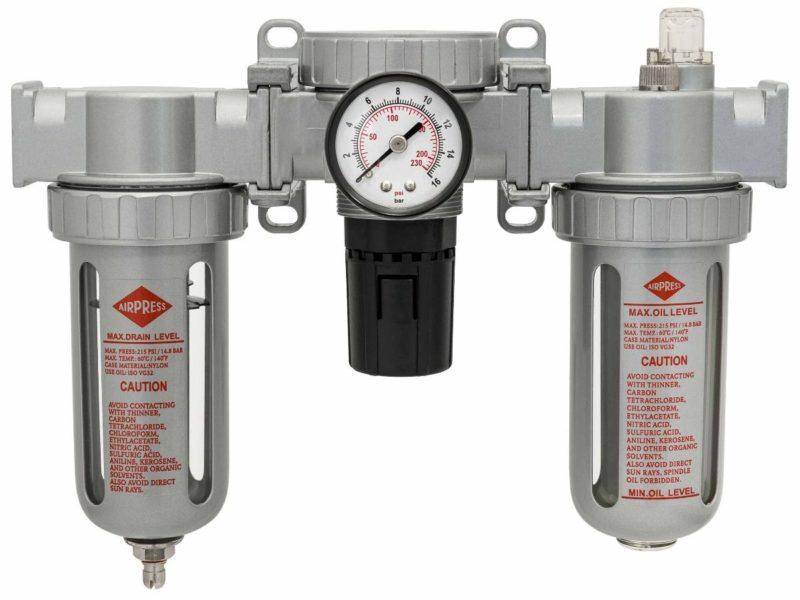 Wartungseinheiten, Filterdruckminderer, Öler, Druckregler