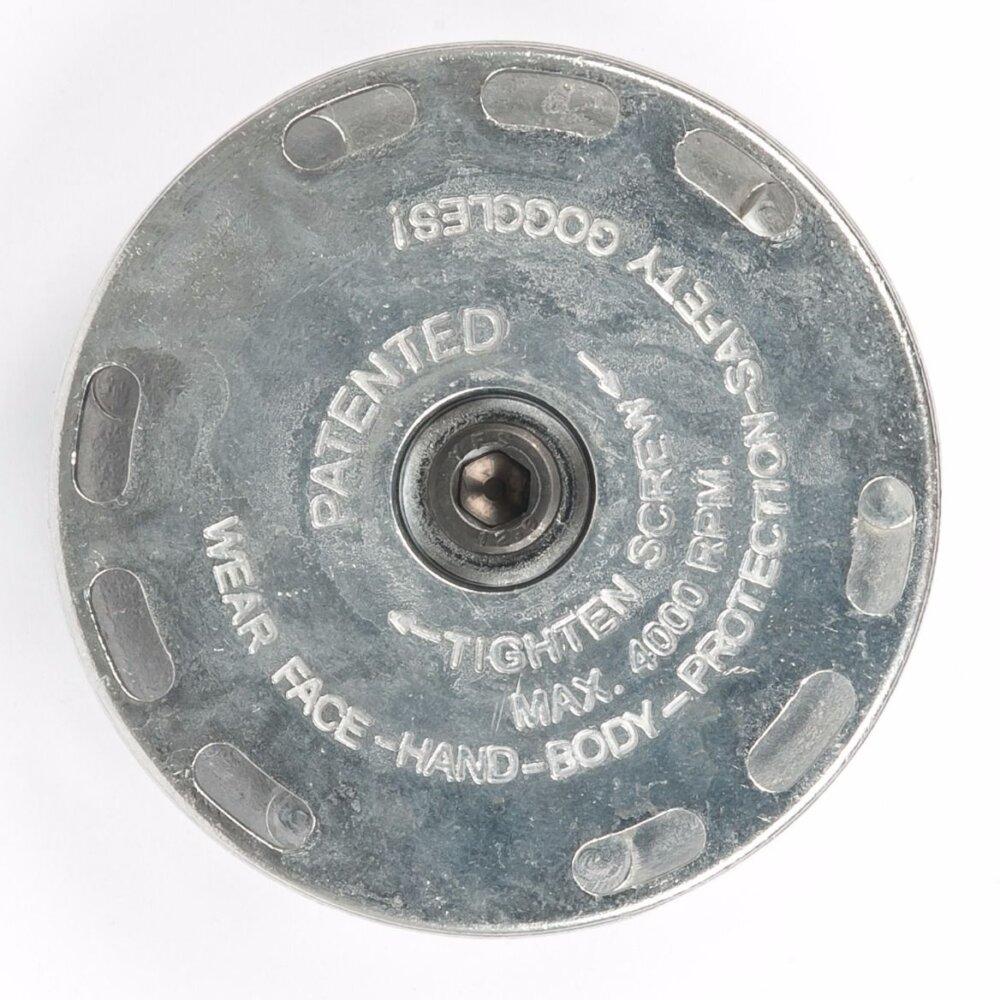 Airpress Aufnahmekörper für Lamellenscheibe und 23mm Drahtbürste