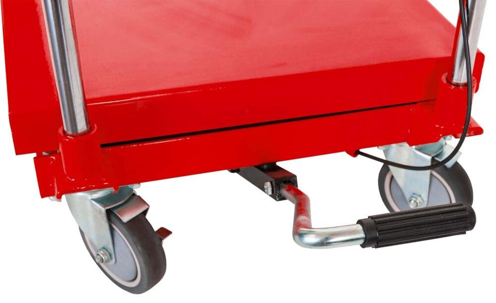 Airpress Hydraulischer Scheren-Hubtisch 500 kg fahrbar