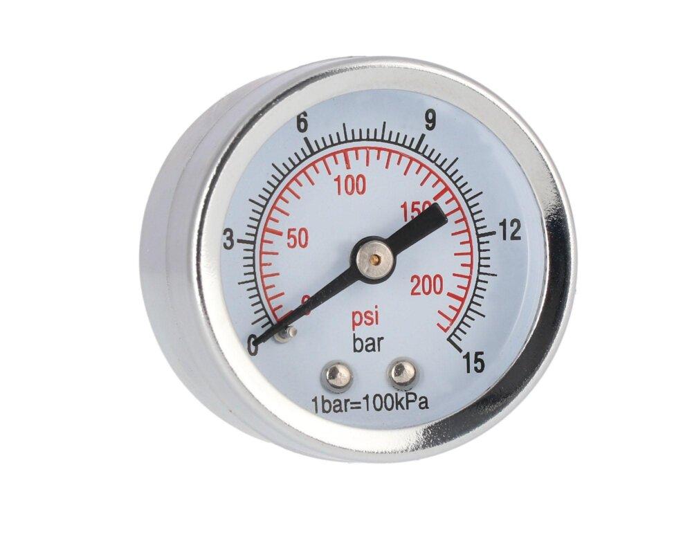 AIRPRESS Manometer 1/8″ Anschluss hinten