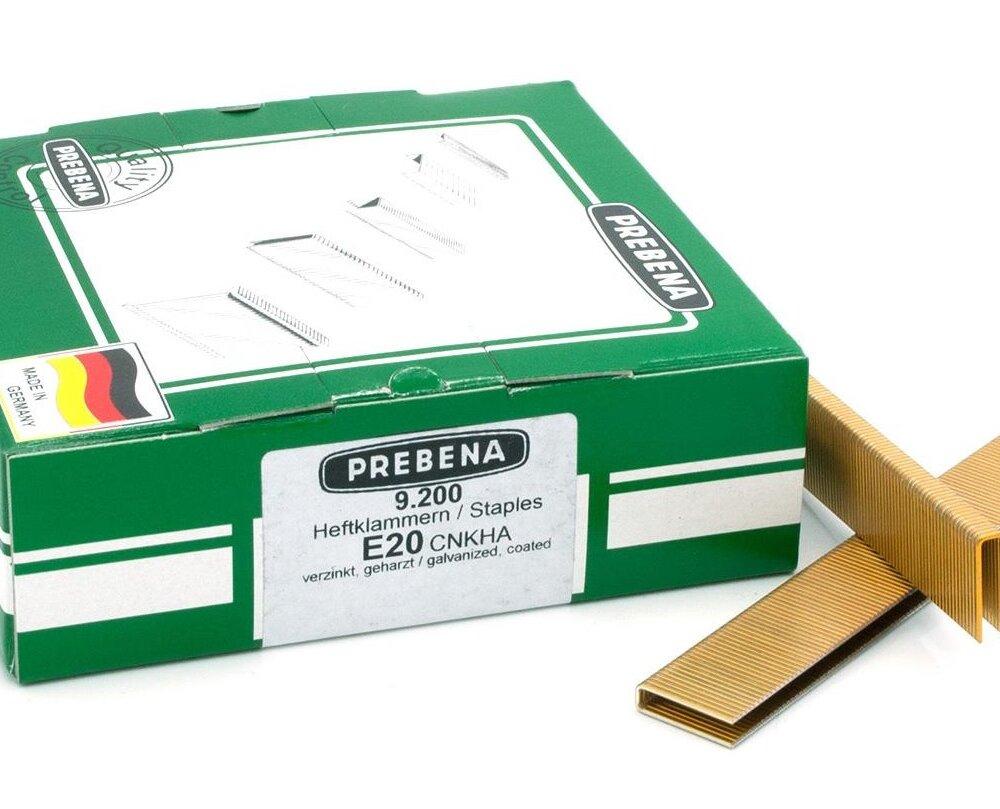 Prebena Klammern E20mm 9200Stk