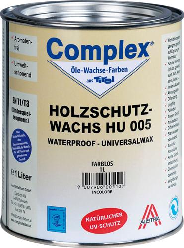 COMPLEX HOLZSCHUTZWACHS HU 005