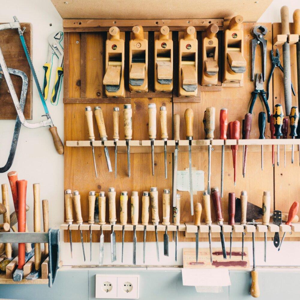 Tischler Handwerkzeuge