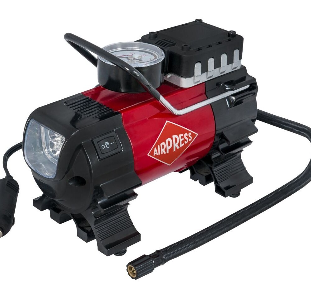 Airpress Mini ölfreier Kompressor 12V 6.5 bar 27 l/min